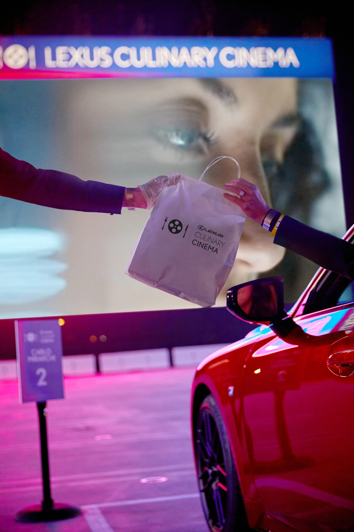 The Lexus Culinary Cinema Event sold out each of its 3 nights, attracting over 100 cars