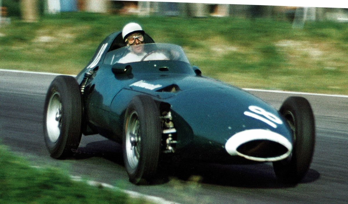 green race car formula 1