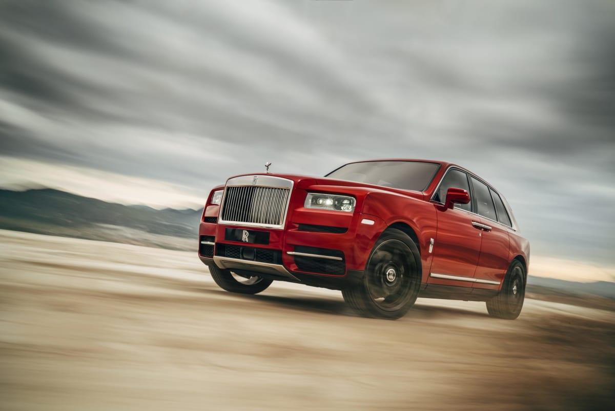 Rolls-Royce Cullinan. Photo courtesy of Rolls-Royce.