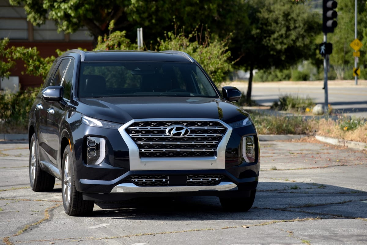 2020 Hyundai Palisade Limited. Photo by Gabriela Moya