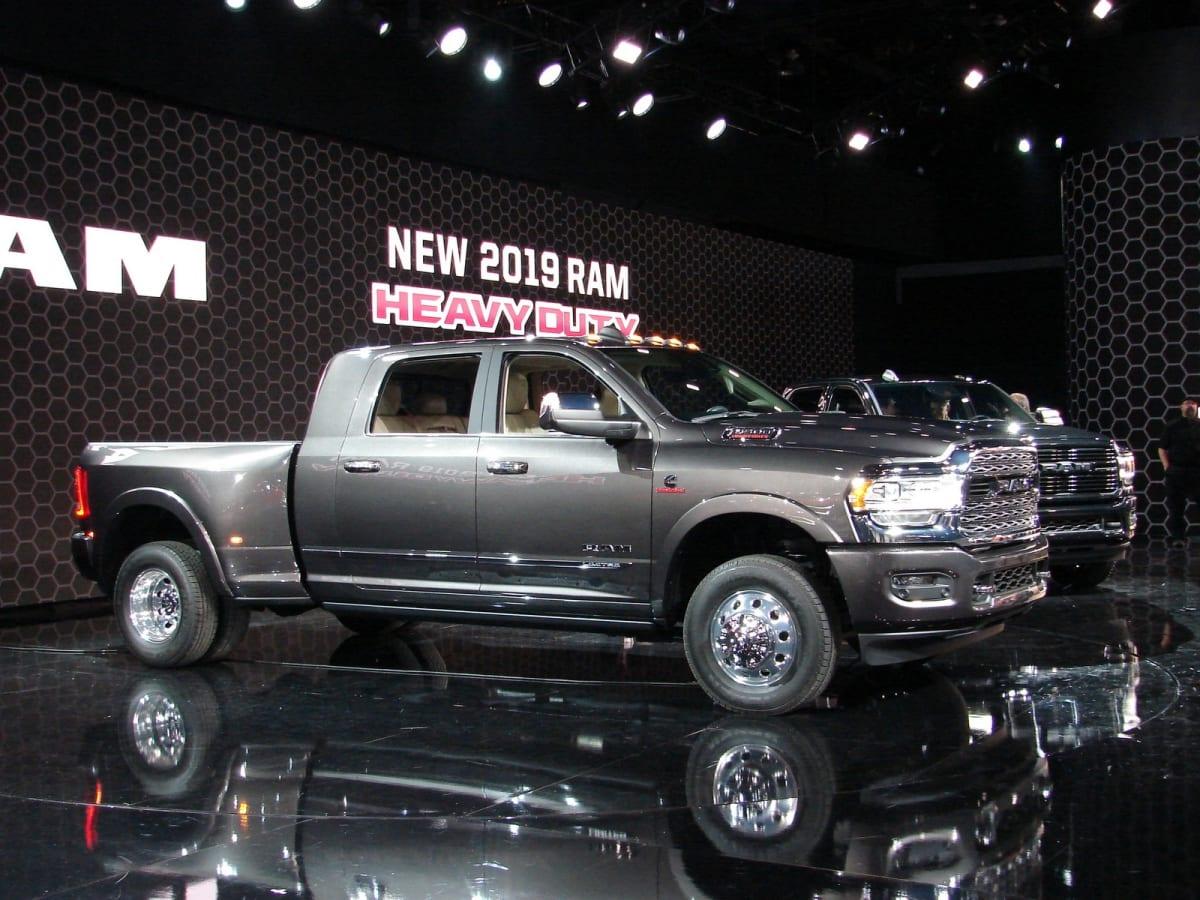 FCA introduces the new RAM 3500 Heavy Duty (Mark Dapoz)