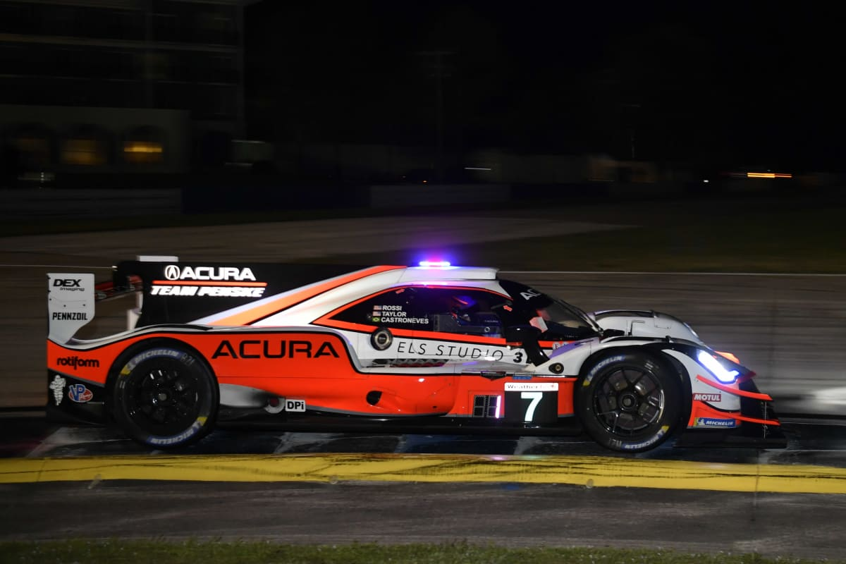 The #7 Acura Team Penske overcame early component failure to finish 8th, clinching the drivers' and teams' titles by a single championship point.