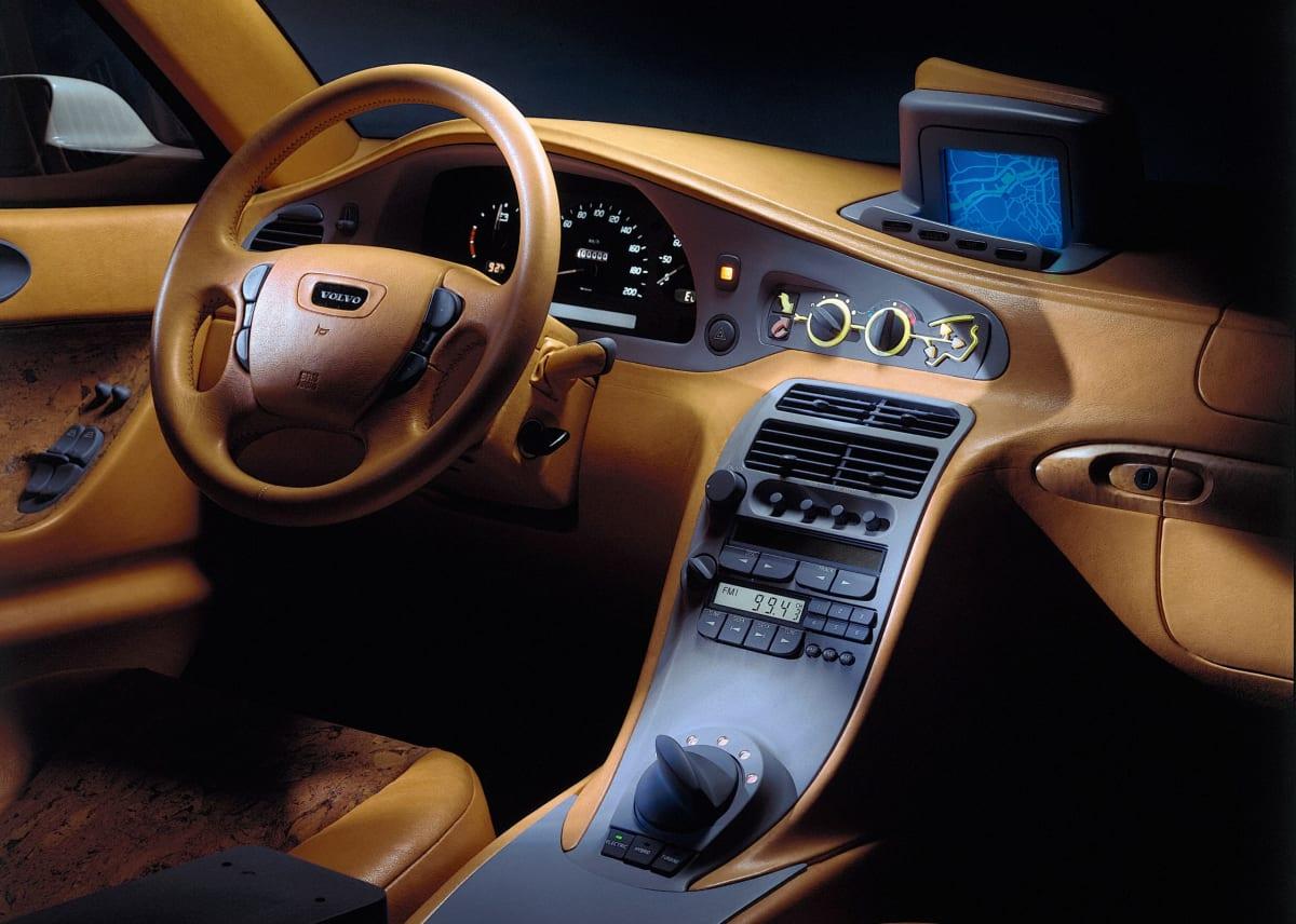 The interior of Volvo's ECC Environmental Concept Car (Volvo media image)