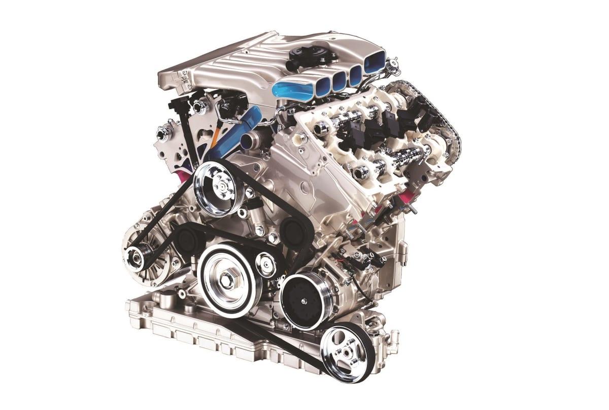 W8 engine detailed
