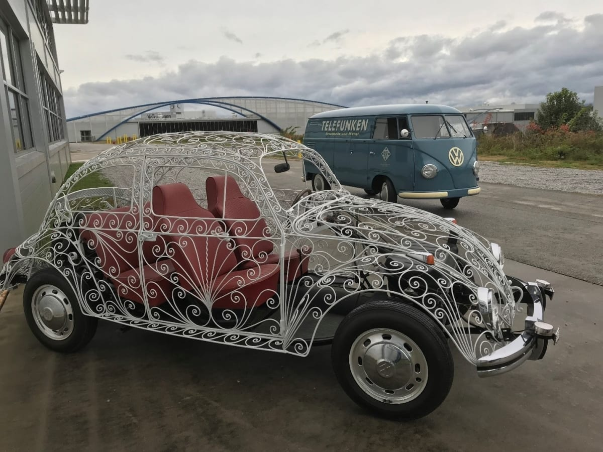 The Wedding Beetle is as much a work of art as it is a Volkswagen.