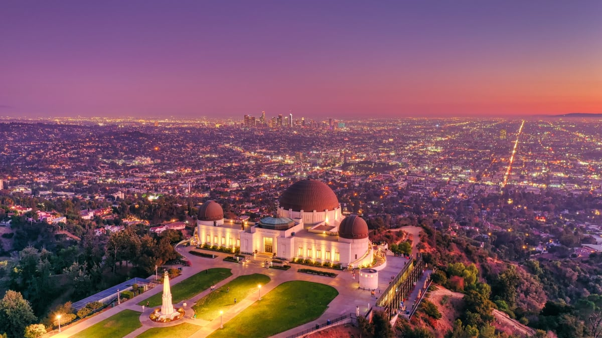Griffith Observatory. Photo by Cameron Venti on Unsplash