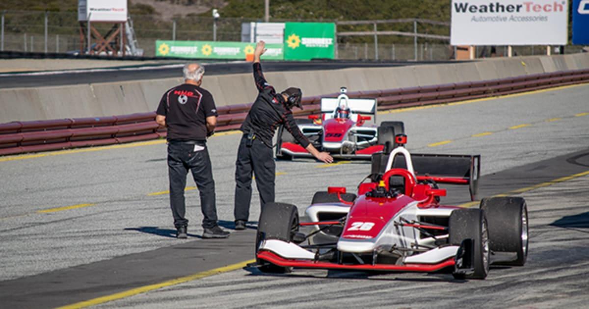 IndyLights Team Descends on WeatherTech Raceway Laguna Seca for Pre-Season Testing