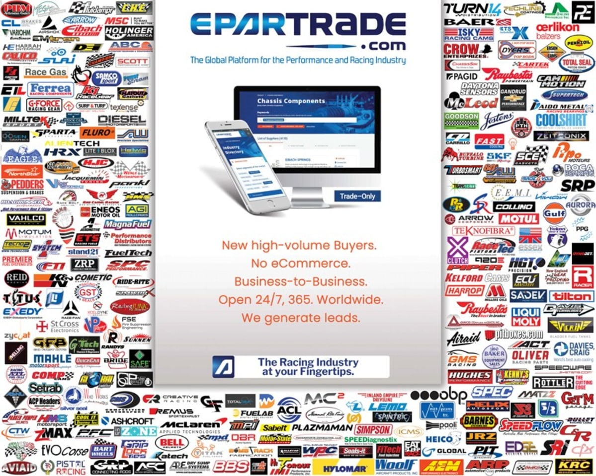 Epartrade offers countless high-performance parts within their marketplace.