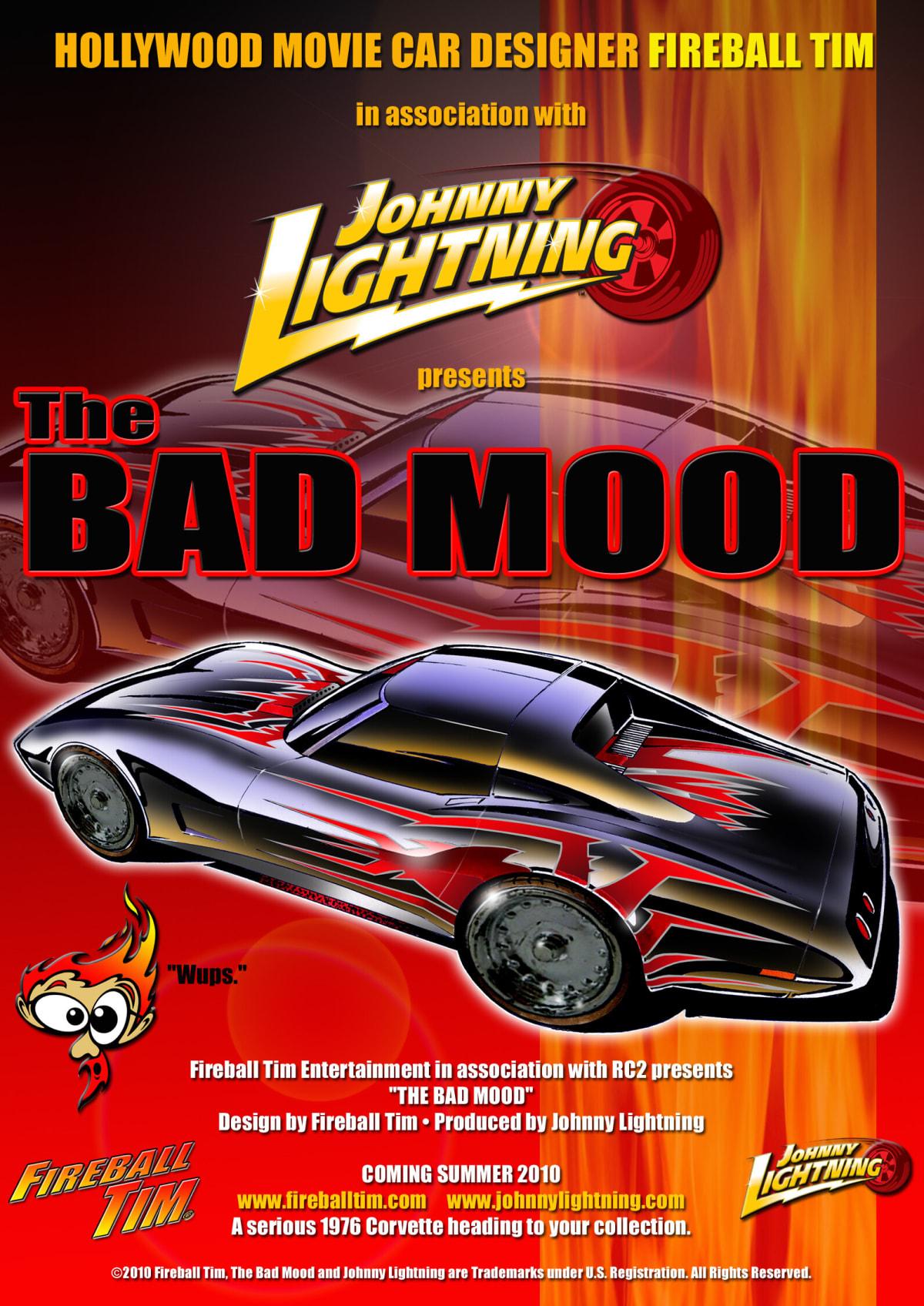 Fireball Tim Bad Mood