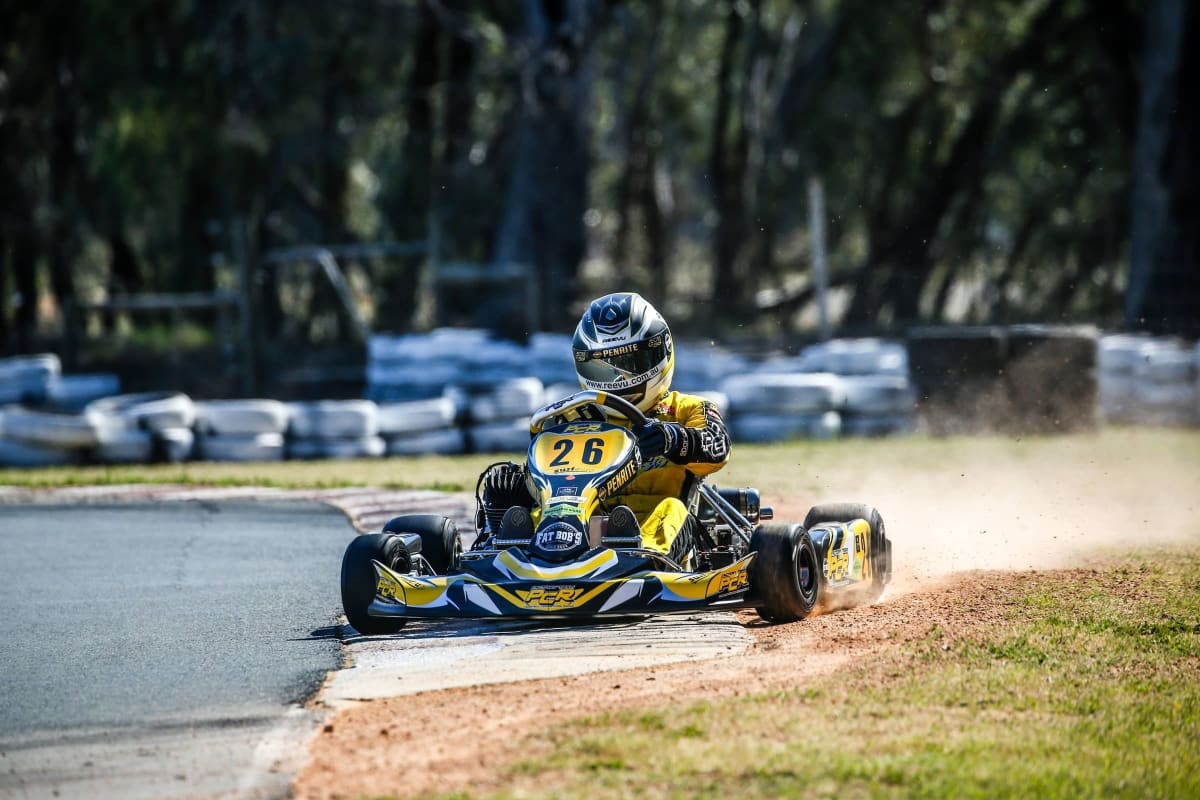 Hone your karting skills at Adams Motorsports Park. Photo by Garry Zhuang.