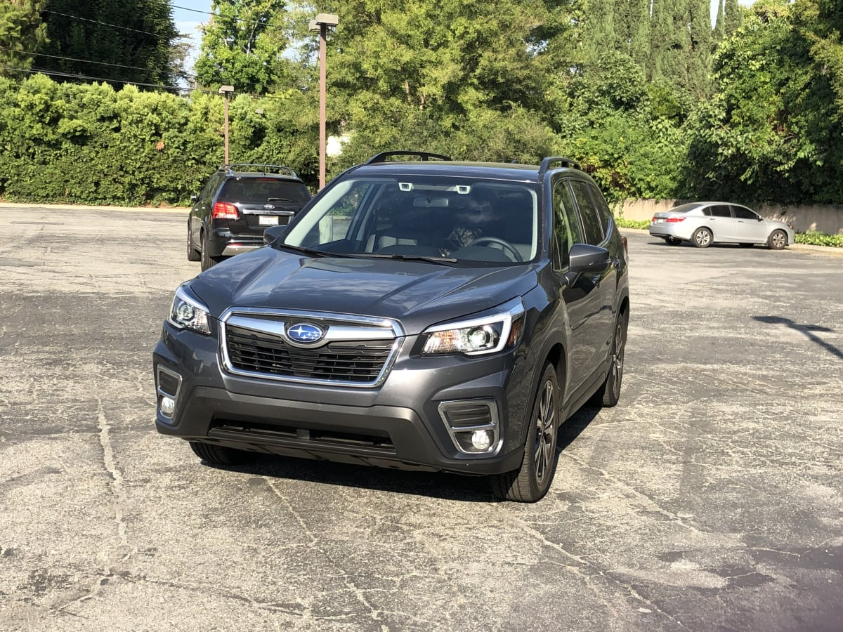 grey car suv subaru forester family car 2020 Subaru Forester Limited