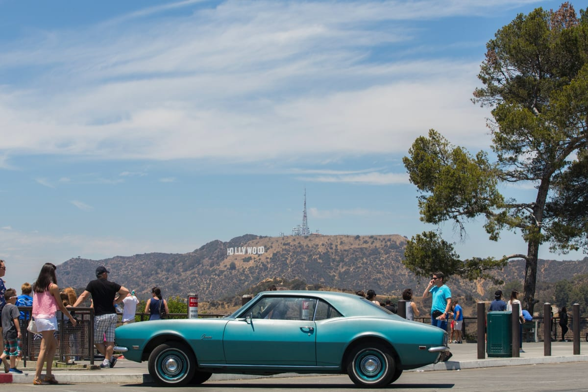 Cruise LA in a classic car from Heritage Classics. Photo by Joel Muniz. car attractions in los angeles.
