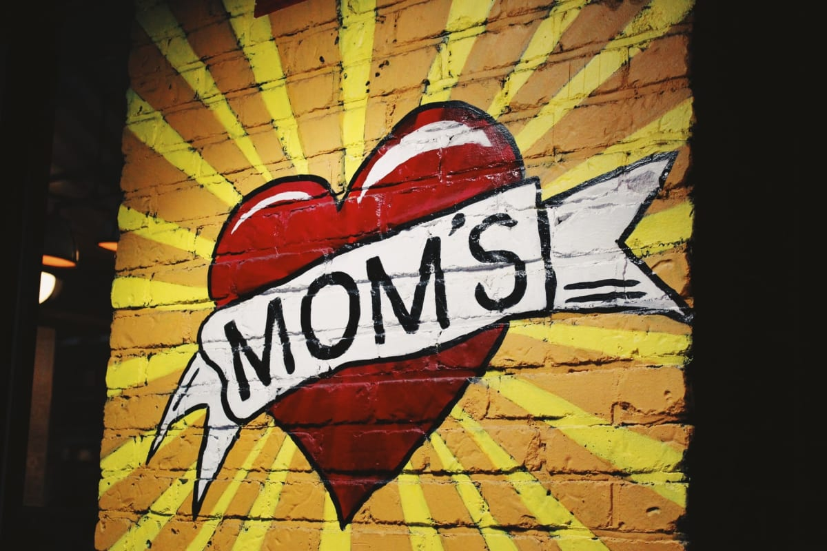 Happy Mother's Day! PC: @jontyson on Unsplash