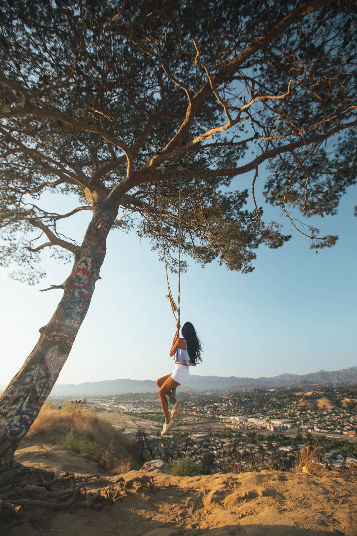 Secret Swing, Elysian Park. Photo by Roberto Nickson on Unsplash