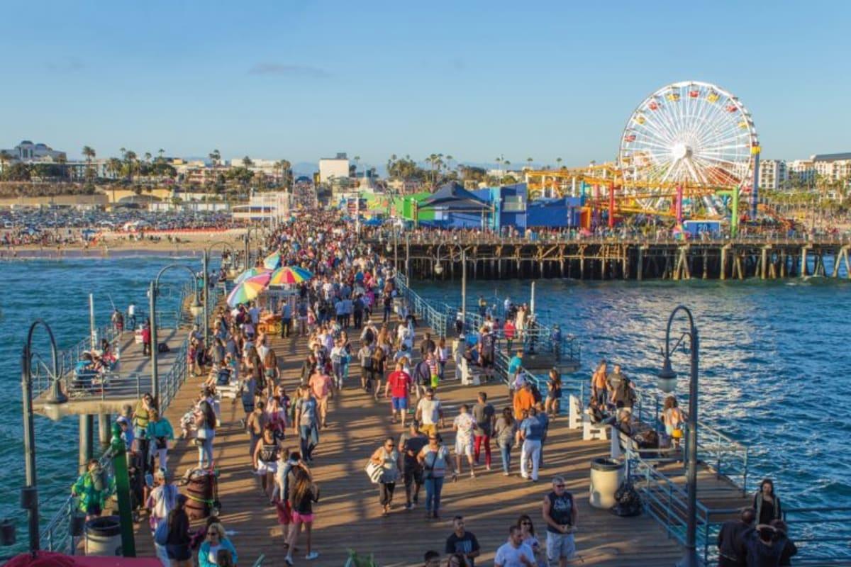 Santa Monica Pier PC: BKD