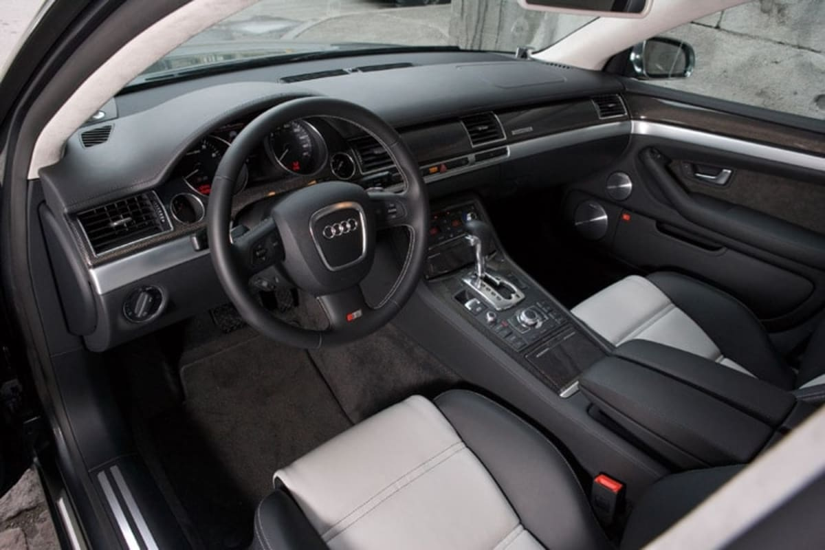 2007 Audi S8 interior. Photo by Audi
