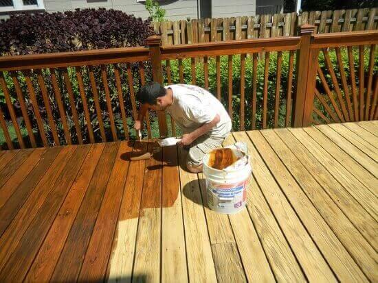 Deck Refinishing Cost Roanoke VA