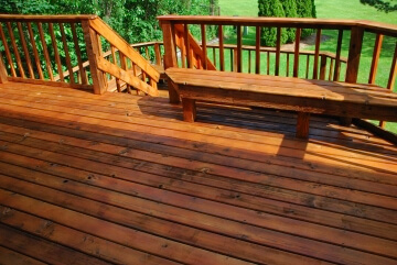 Deck Staining Price Roanoke VA