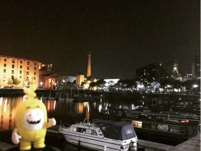 Greetings from the Albert Dock