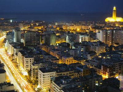 Casablanca by night