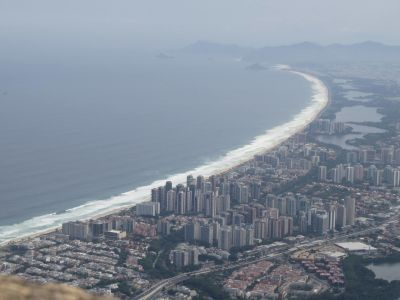 View from Barra da Tijuca