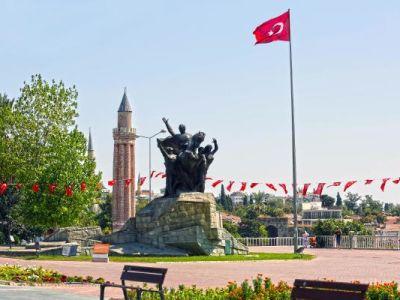 Antalya Rebuplic Square