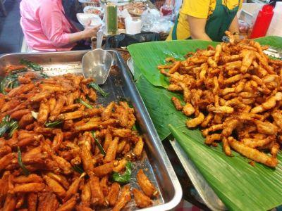 Fried chicken & Fried pork
