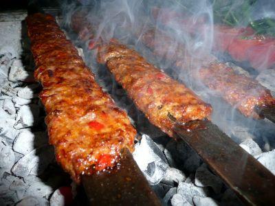 Kebab on Grille