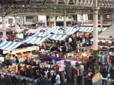 The antique market