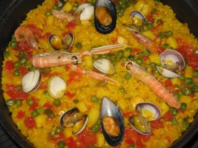 seafood rice (Portuguese)
