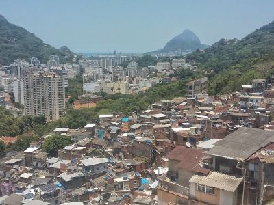 Favela Santa Marta Walking Tour
