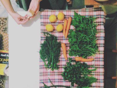 preparations  at home
