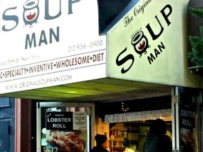 Soup Man near Time Square