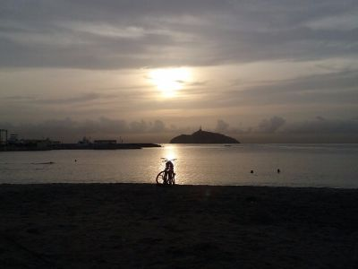 Bay of Santa Marta Sunset