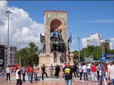 Moniment of Taksim Square