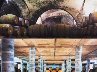 Hidden wineries underground.