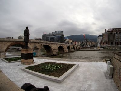 Main Square and Stone Bridge