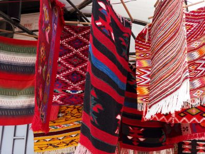 Traditional Carpets in the Old Town