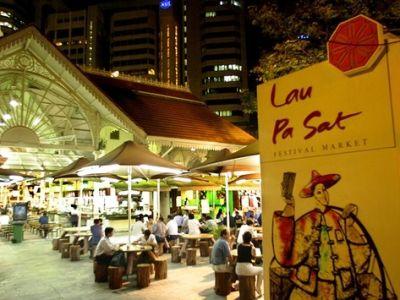 Lau Pa Sat - Food Paradise