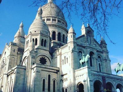 Sacré coeur by day