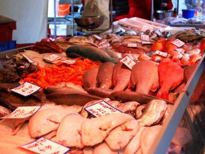 fresh fish from Dappermarkt