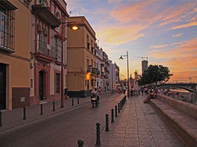 A Street View in Triana