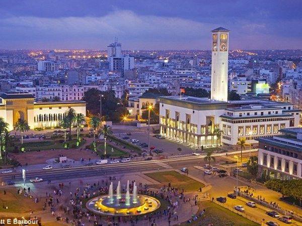 Casablanca city center