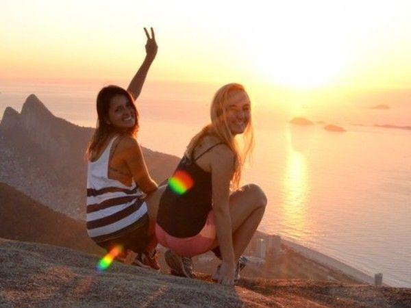 Sunrise view at Pedra Bonita