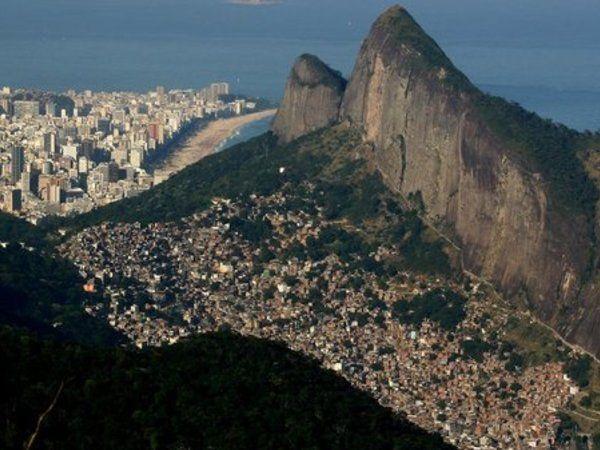 View of Rocinha and Ipanema Beach