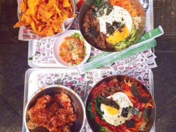 Unresistable Korean food