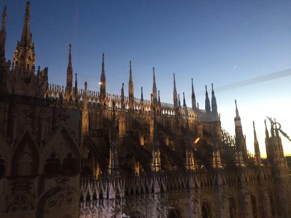Milano Doumo Sunset