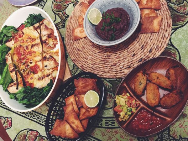 Mexican Vegan Dinner