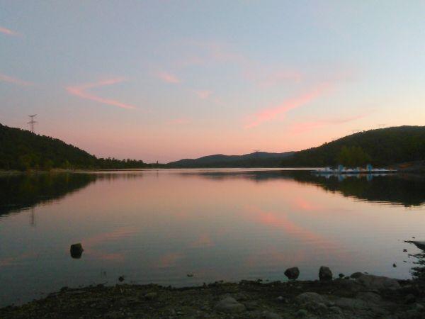 sunset from st cassien
