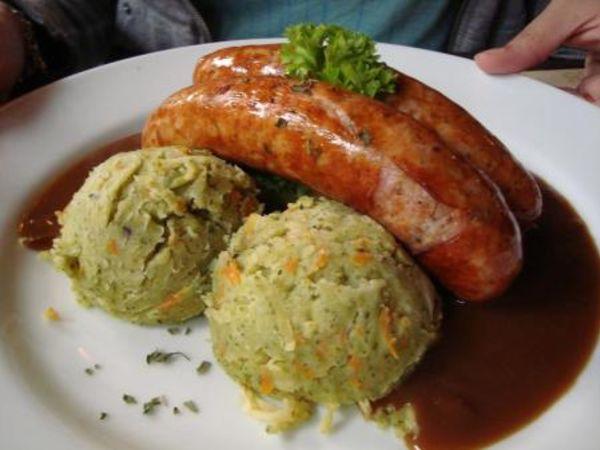 pork sausage (Belgian)